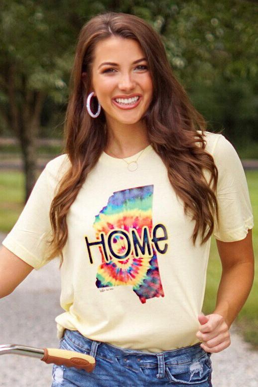 Missi-Hippie Graphic Tee graphic tees Mark tee