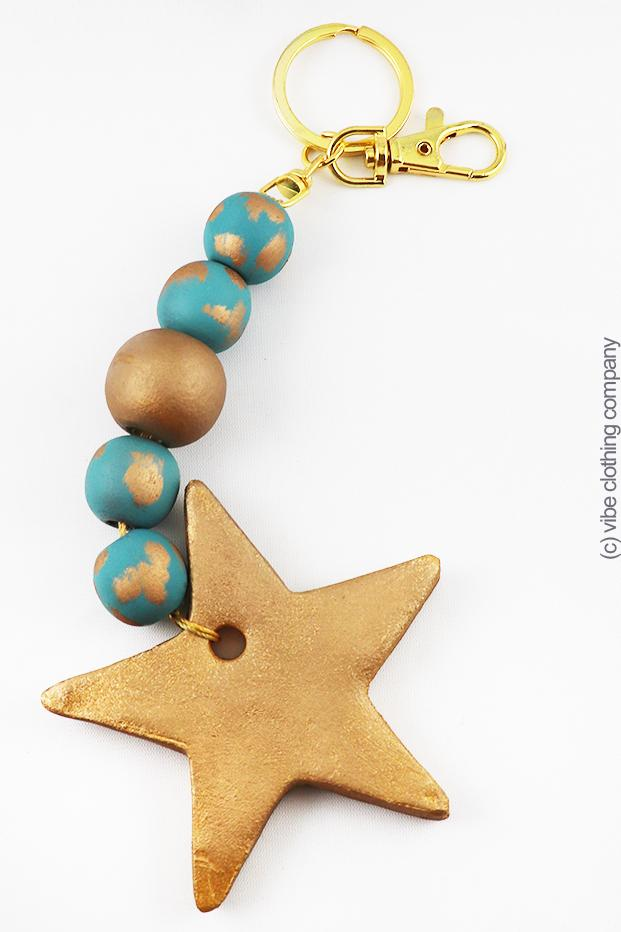 PRECIOUS GIFT Key Chain - STAR accessories ViVi Liam Jewelry