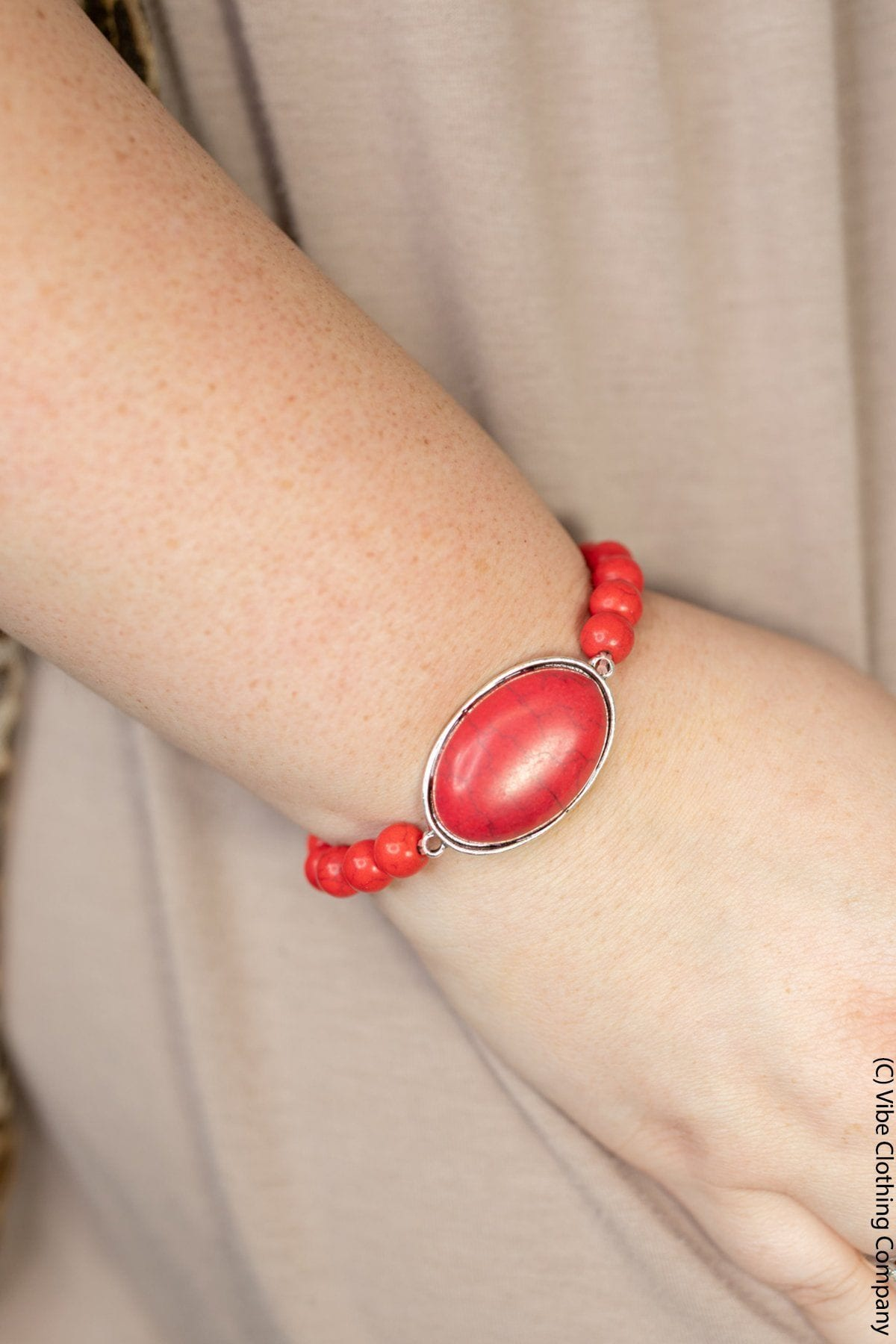 Polished & Perfect Bracelets Jewelry ViVi Liam Jewelry Red