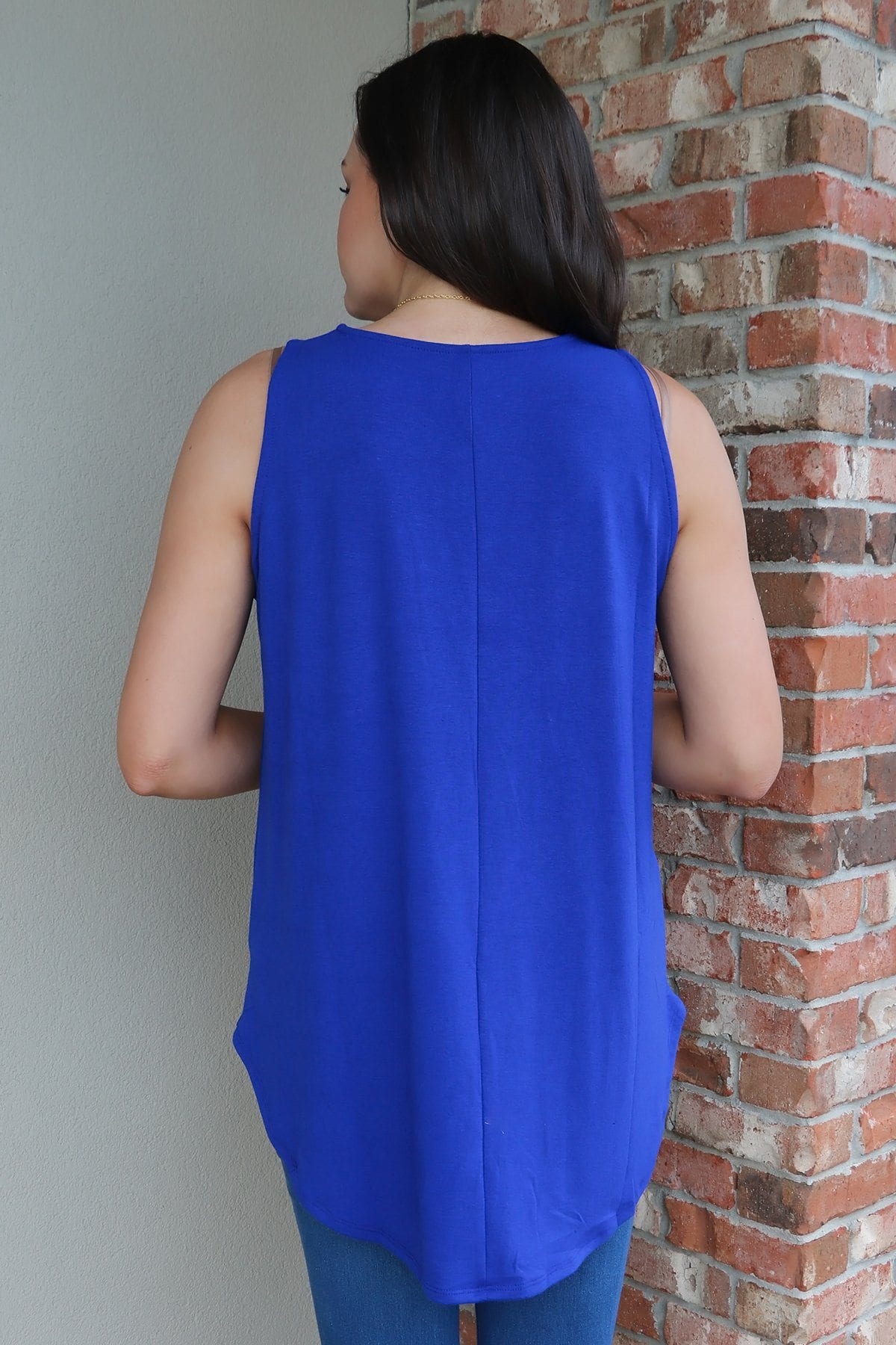TAMALYN Tank - Royal BASICS 2100 denim blue