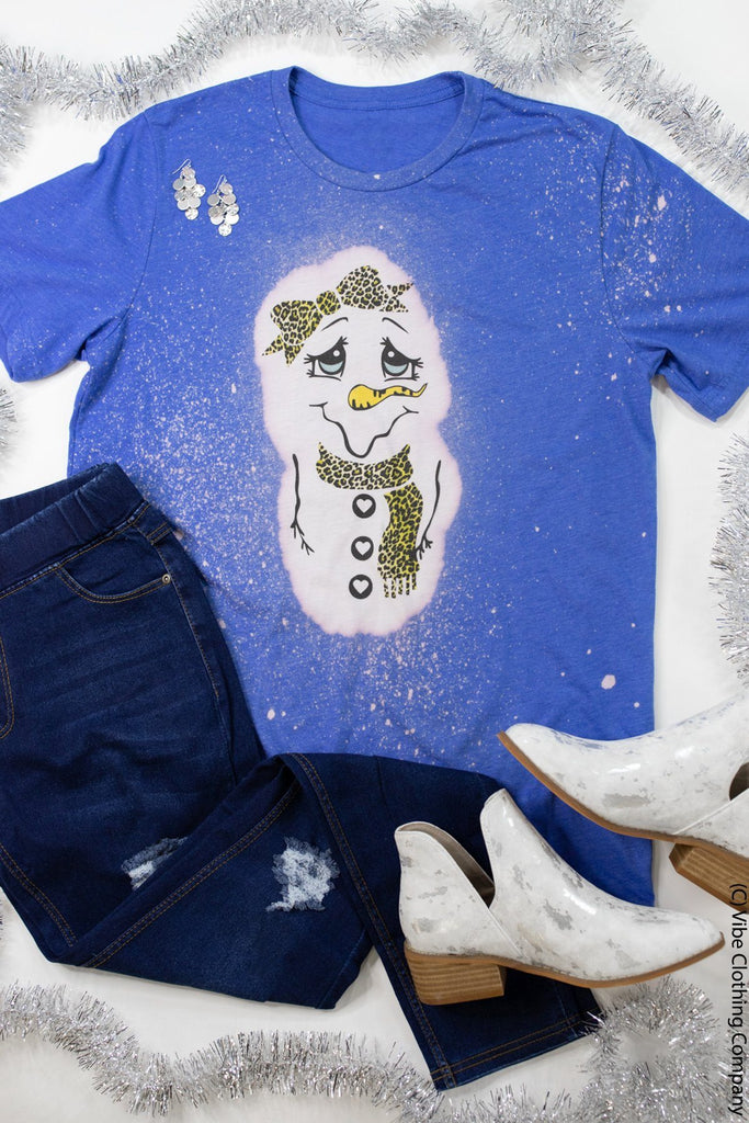 Sassy Snow Girl Graphic Tee
