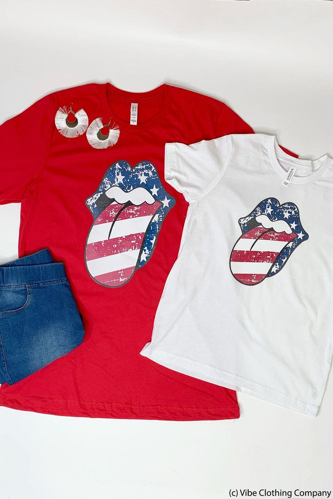 Stars & Stripes Graphic Tee graphic tees Mark tee