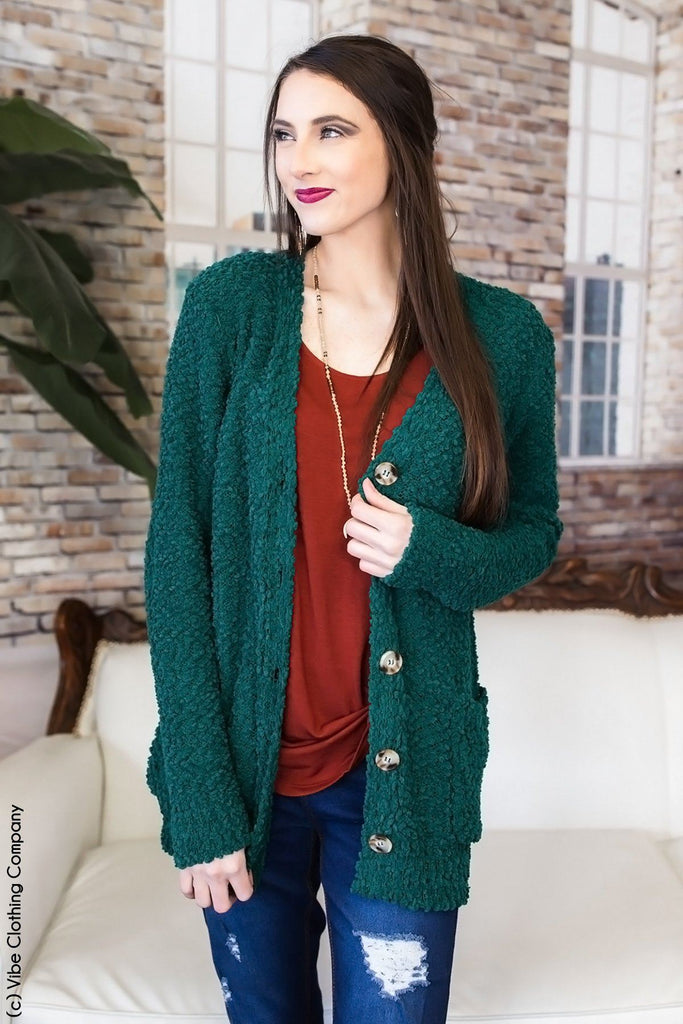 Take Me Home Tonight Cardigan - Evergreen Kimono 1937 eggplant Small