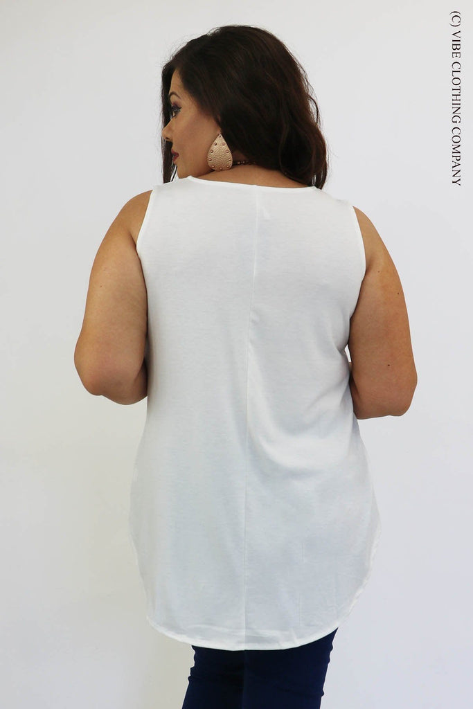 TAMALYN Tank - White