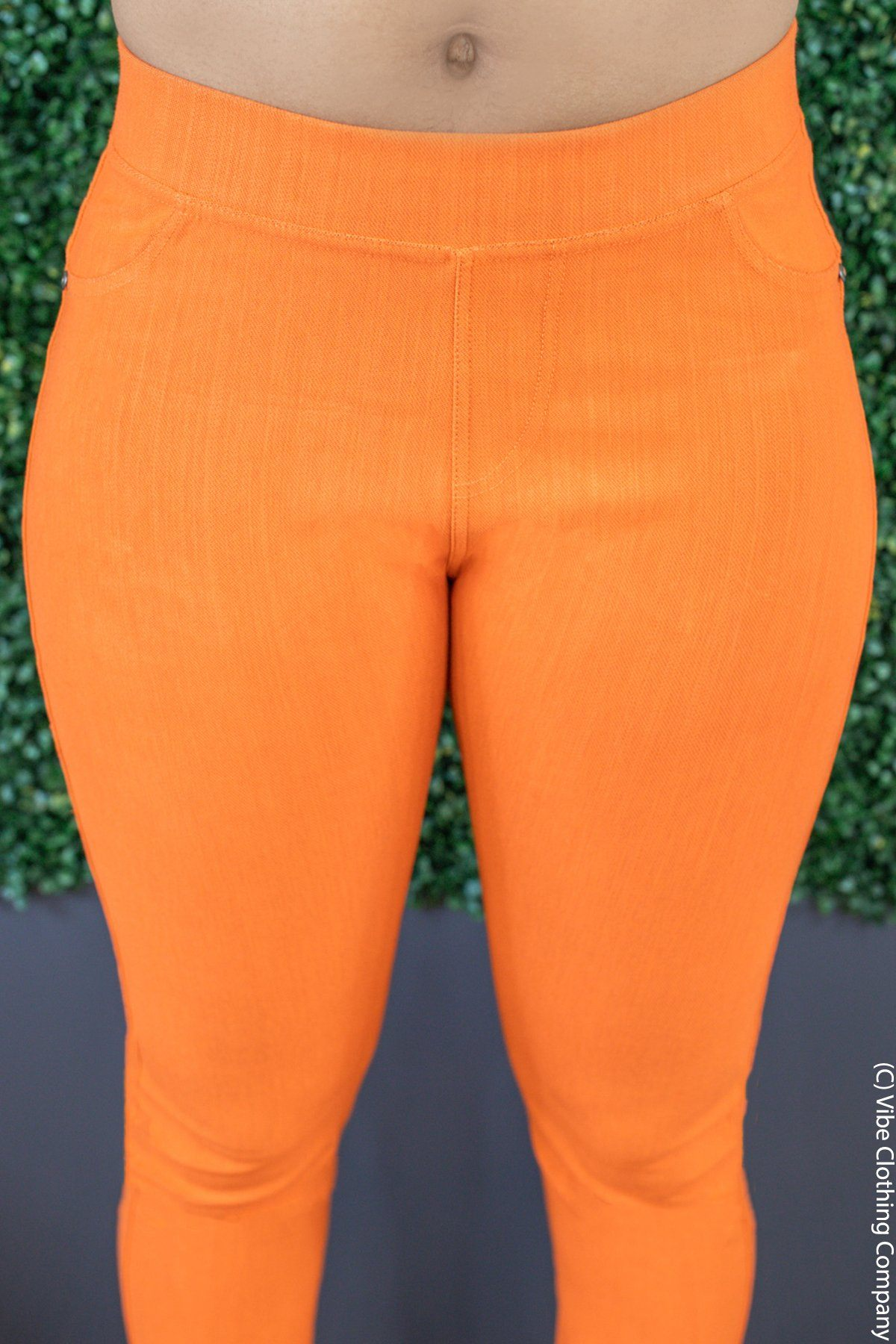 Charleston Skinnies - Tangerine Bottoms Vibe Clothing Company