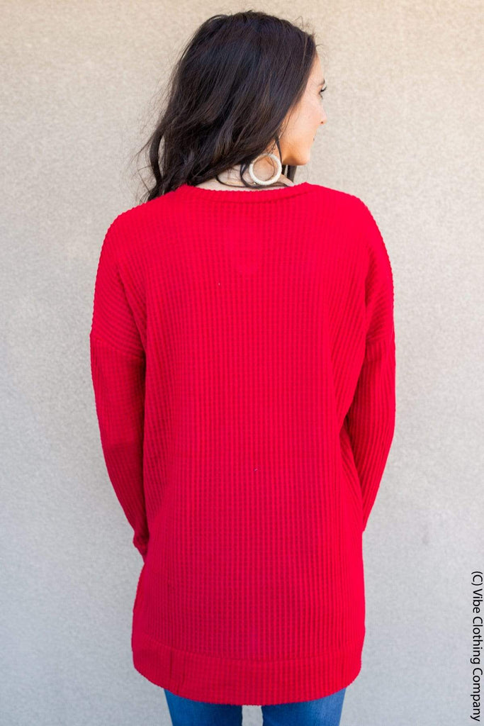 THELMA Thermal - Ruby BASICS dk red ruby 2429