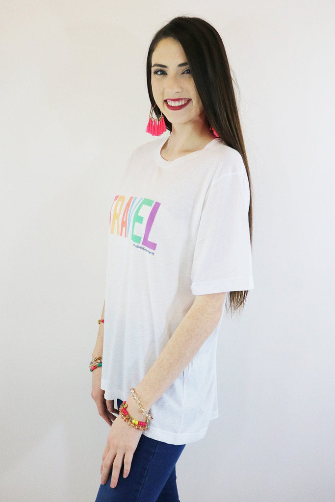 Travel Graphic Tee graphic tees Mark tee