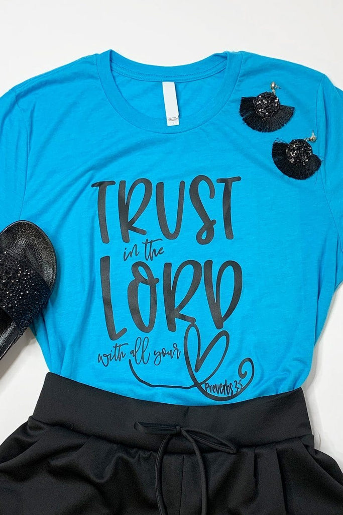 Trust in the Lord Graphic Tee graphic tees Mark tee