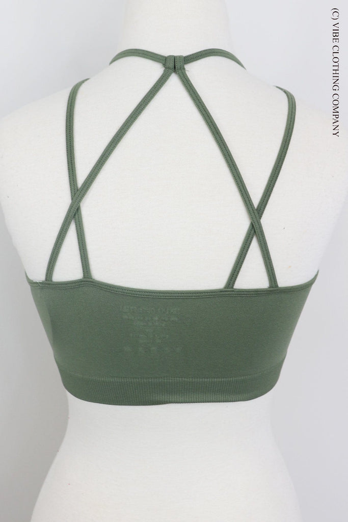JUPITER Bralette (padded) - Willow