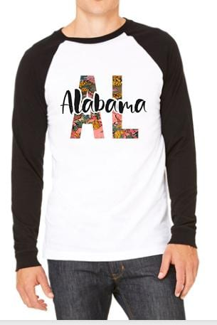 Four Seasons States Graphic Tee graphic tees Mark tee Small Alabama