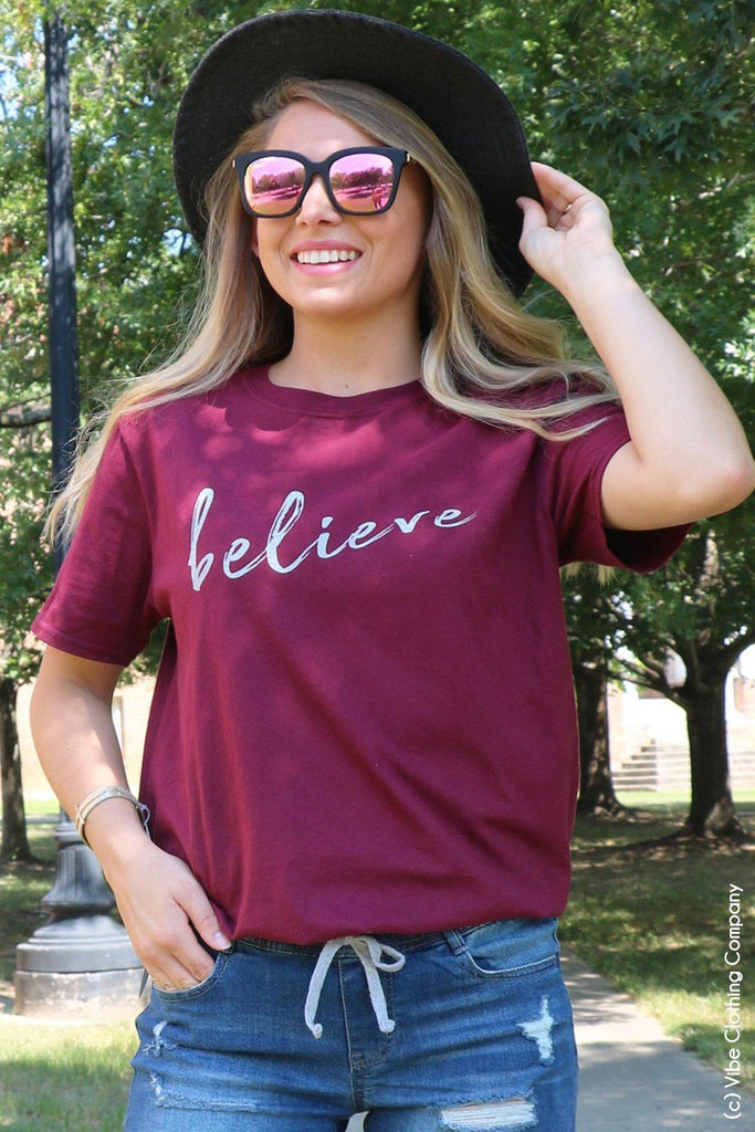 Believe in Yourself Graphic Tee graphic tees Mark tee