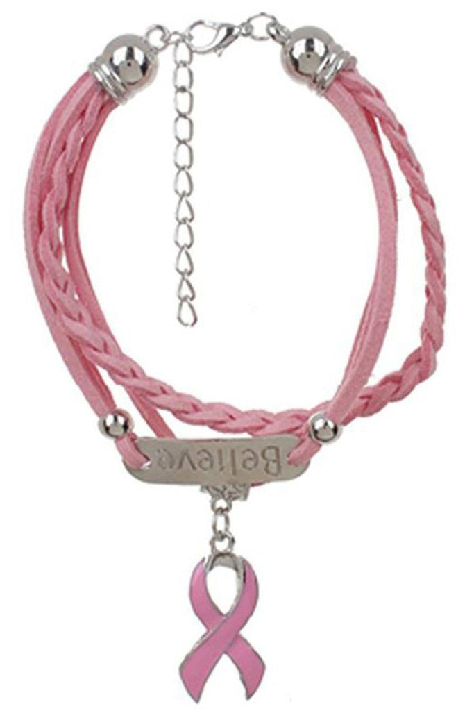 Breast Cancer Awareness Bracelet deal funteze