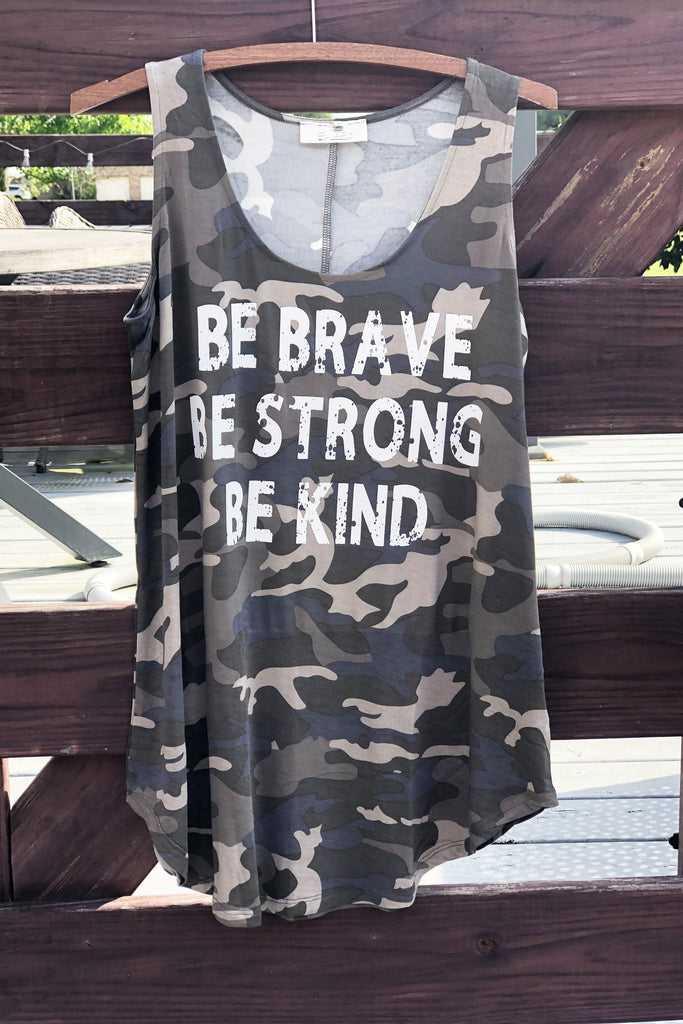 Be Strong Graphic Tank