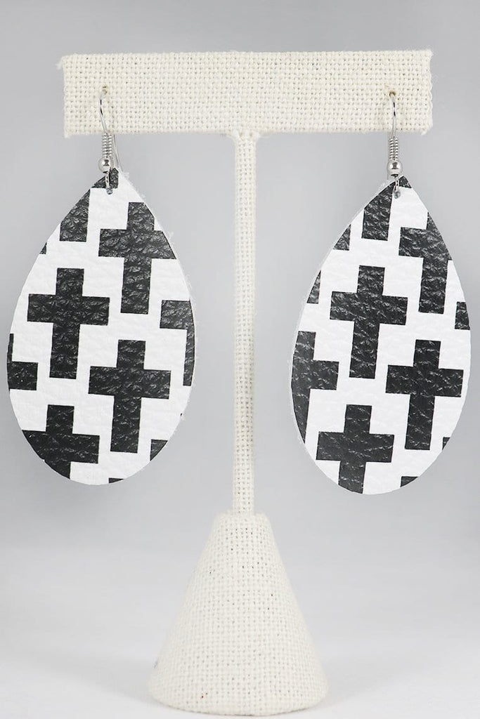 FAITHFULLY Teardrop Earrings