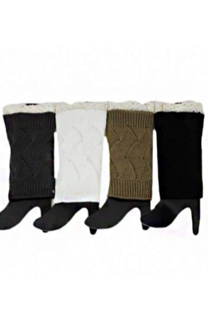 Lace Boot Sock Extenders