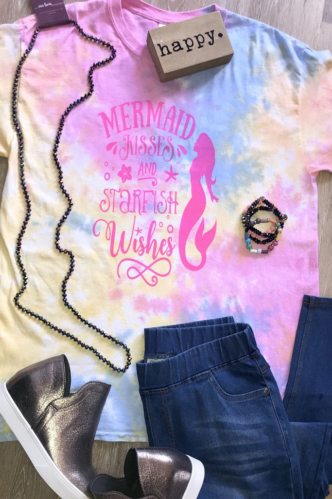 Mermaid Kisses Graphic Tee