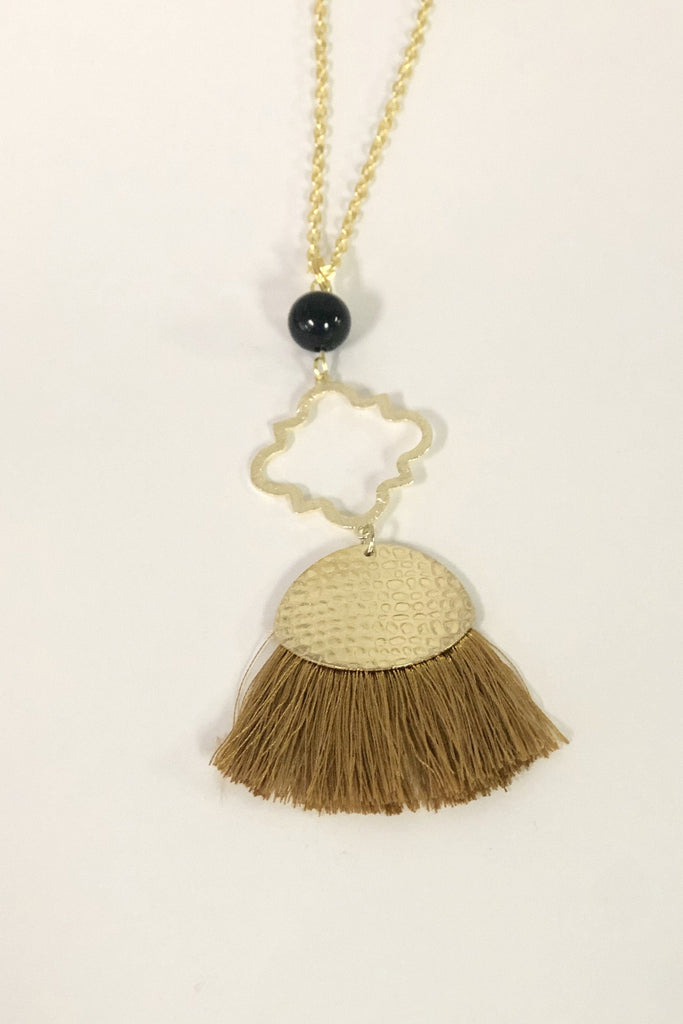 FAN Favorite Fringe Necklace