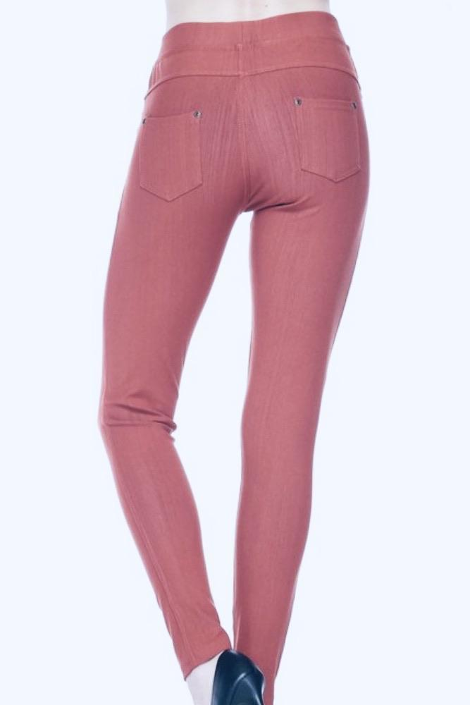 Charleston Skinnies - Marsala Bottoms myCloset