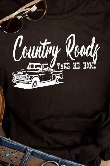 Country Roads Band Tee graphic tees Mark