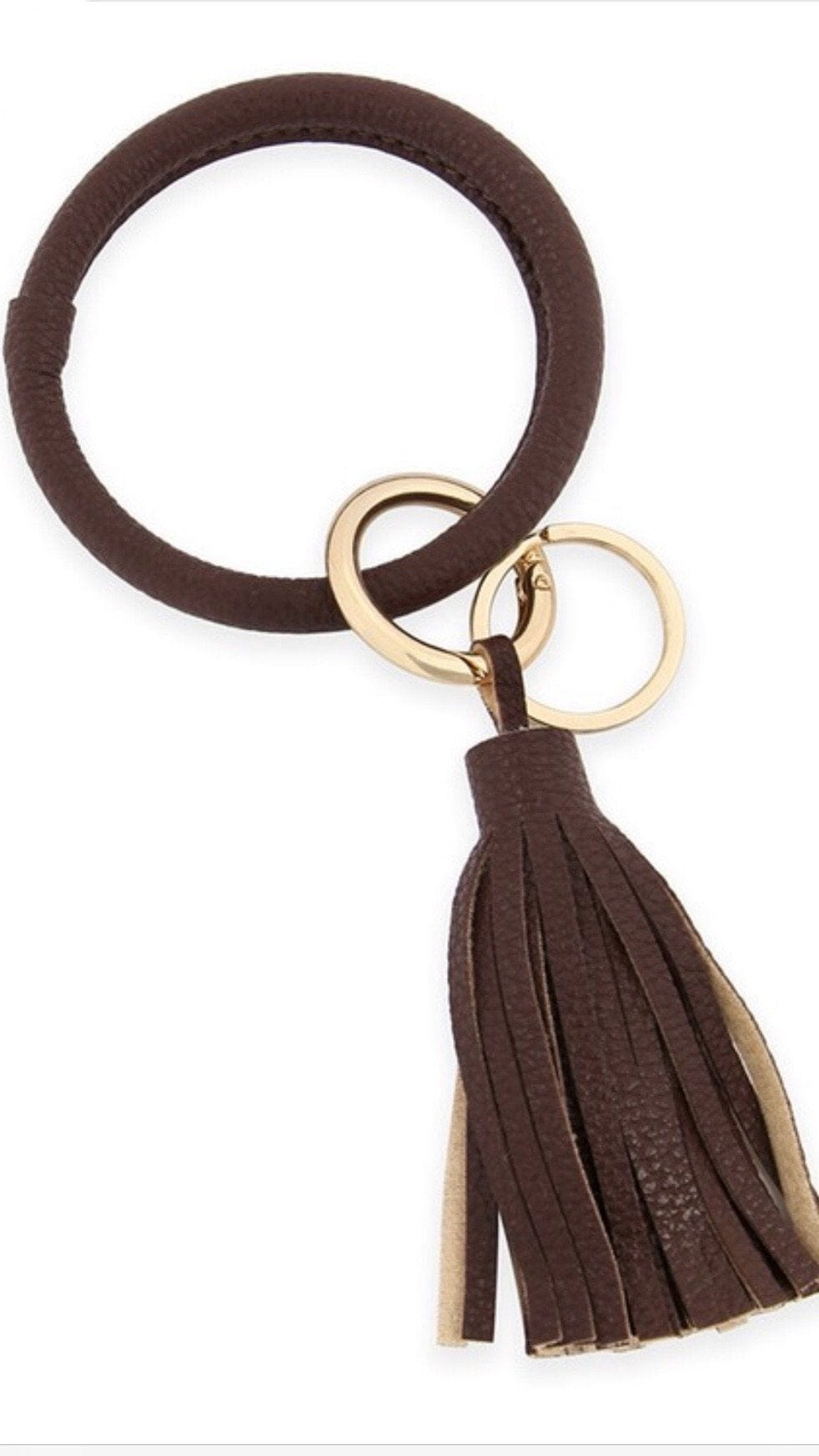 Leather Tassel Key Chain Ring door buster MYS