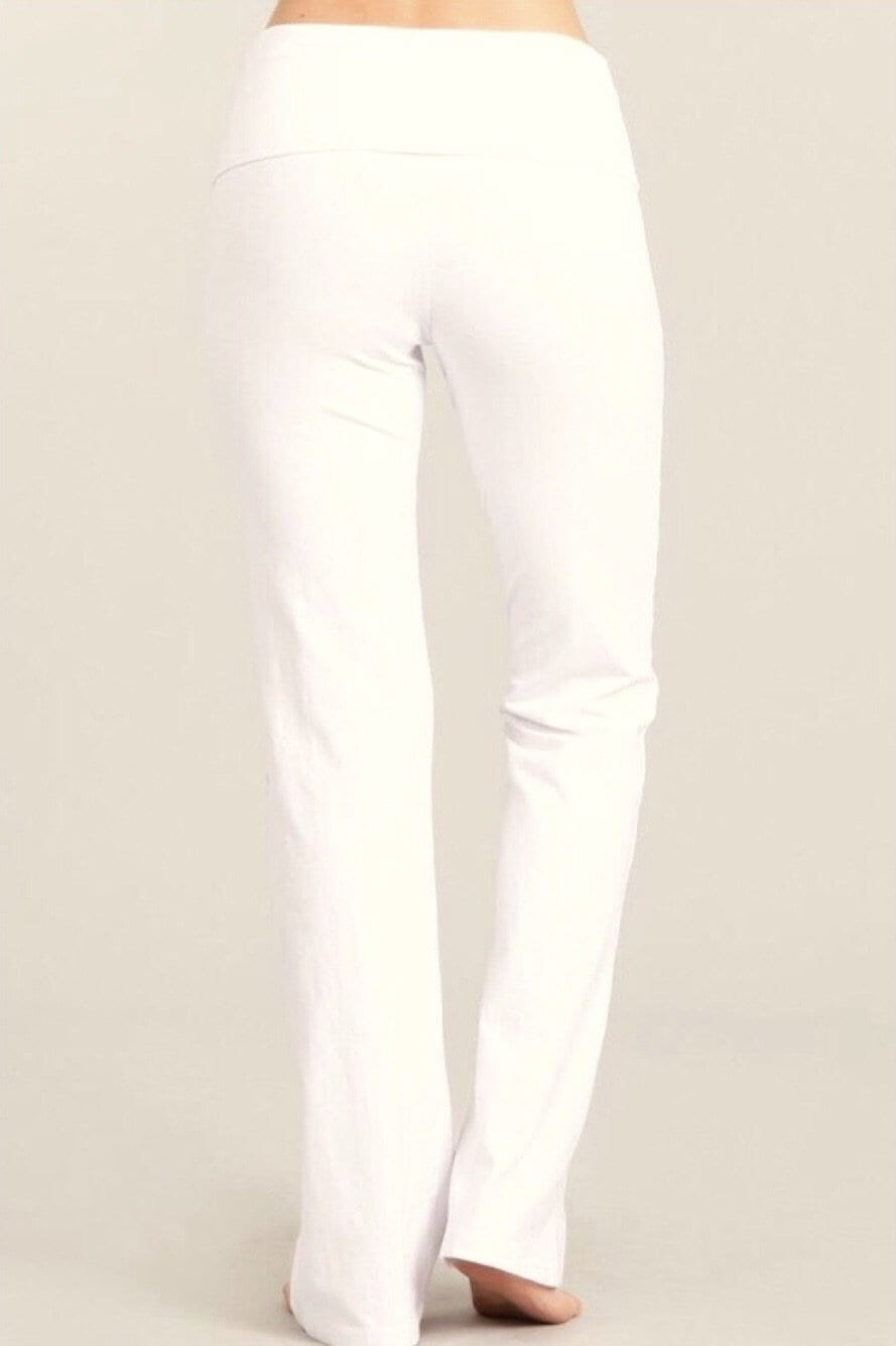 CLASSIC Flares - Ivory (Solid) Bottoms Vibe Clothing Company