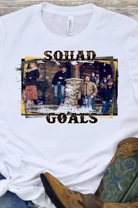 Squad Dutton Graphic Tee graphic tees Mark tee Small White