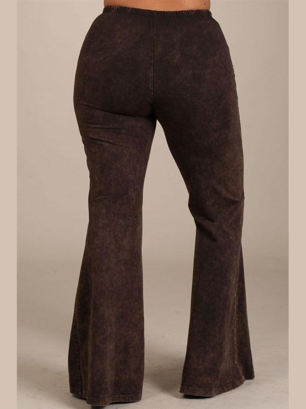 All American Flares - Coffee Bottoms 30190 brn
