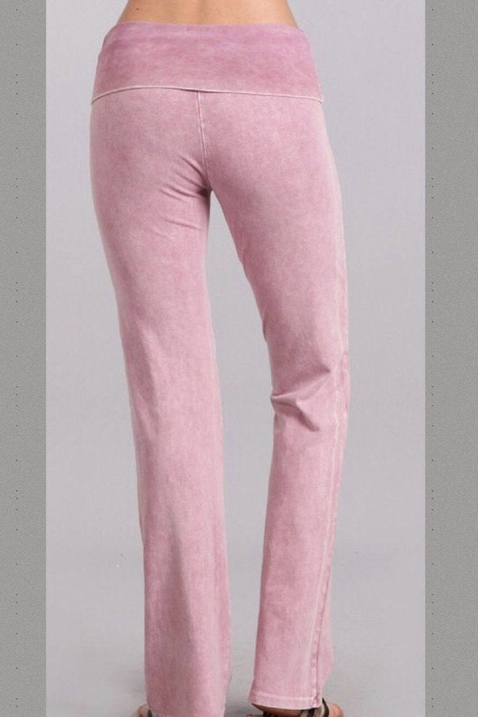 All American Straight Pants - Rosey