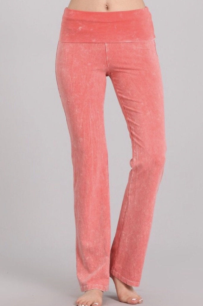 All American Straight Pants - Peachy