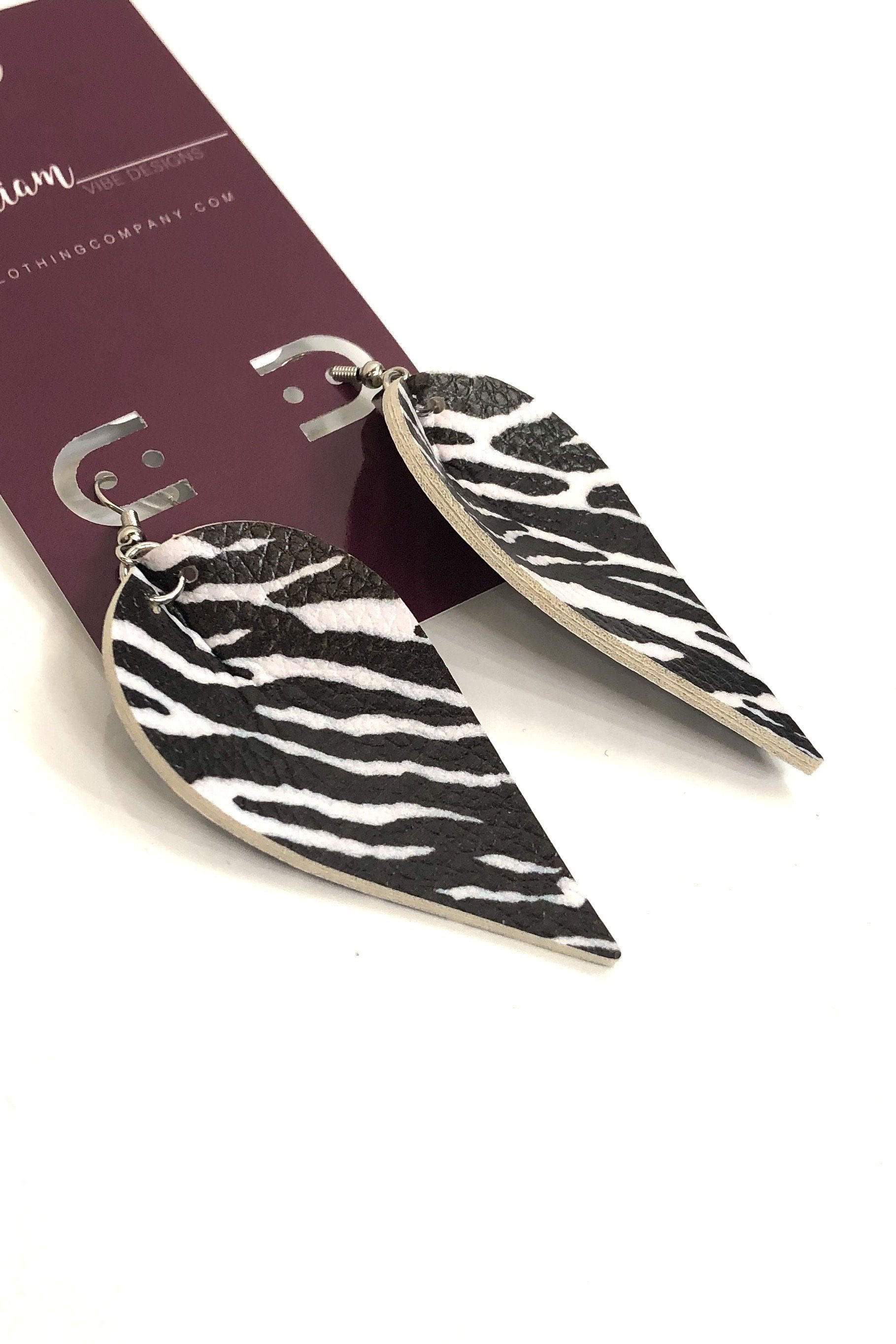 Crystal & Zebra by ViVi LIAM Jewelry & Accessories vivi liam Earrings