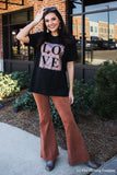 Rose Gold LOVE Graphic Tee graphic tees Mark tee