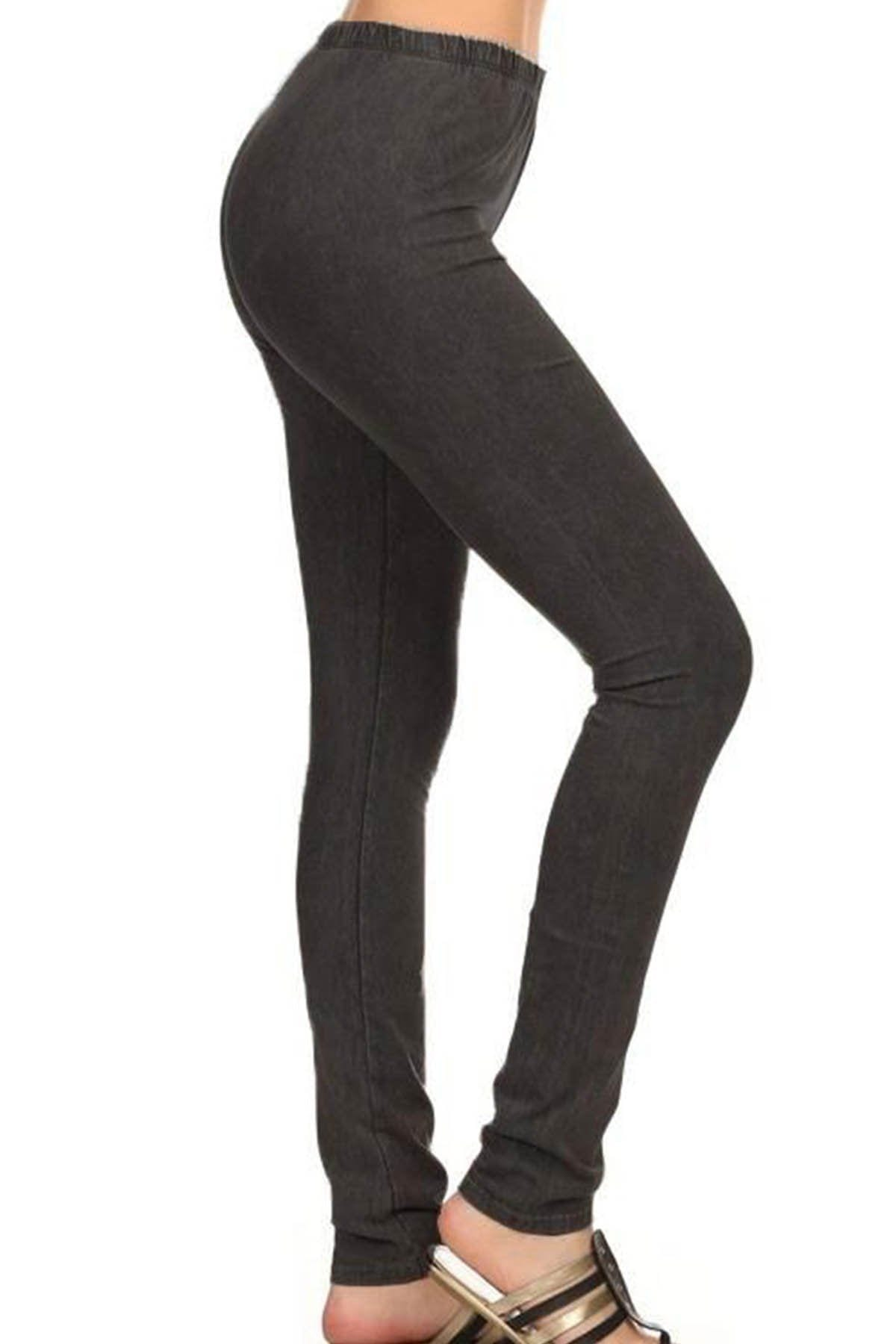 All American Skinnies - Smokey Bottoms dark ash grey