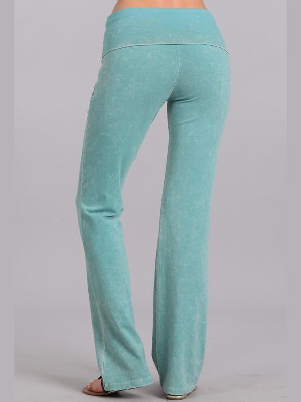 All American Straight Pants - Minty Bottoms Vibe Clothing Company