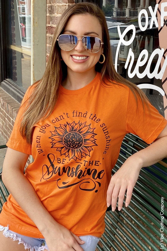 Be the Sunshine Graphic Tee graphic tees Mark tee