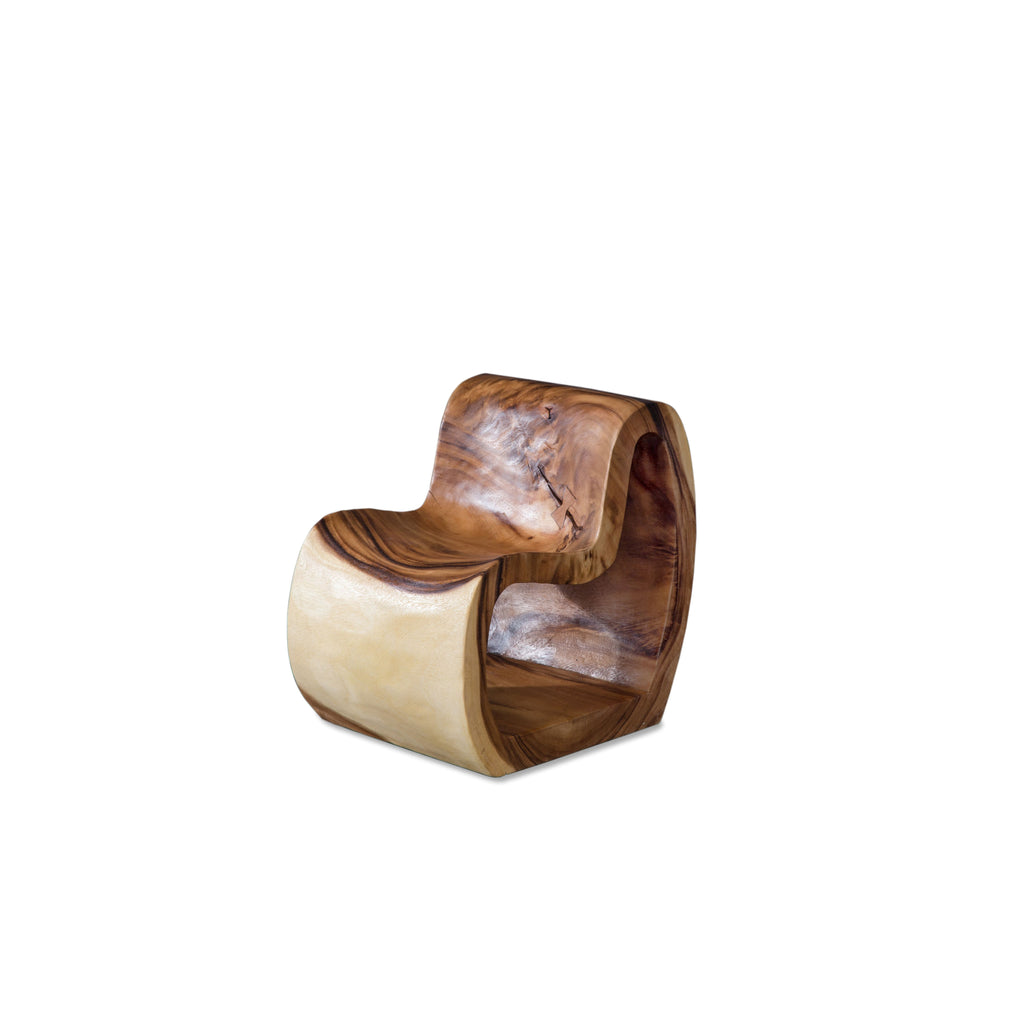 MOLDED STYLE WOOD CHAIR