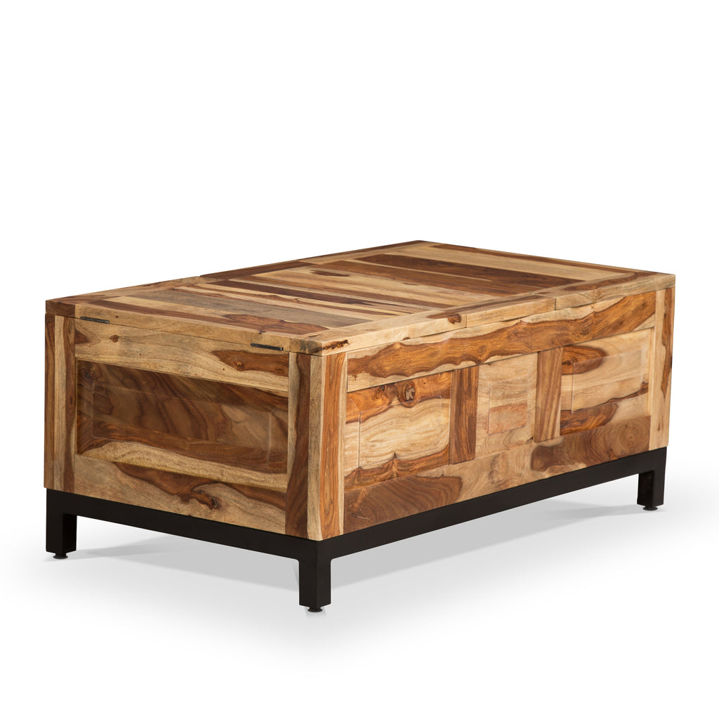 BELLA CHEST STYLE COFFEE TABLE WITH TRAY