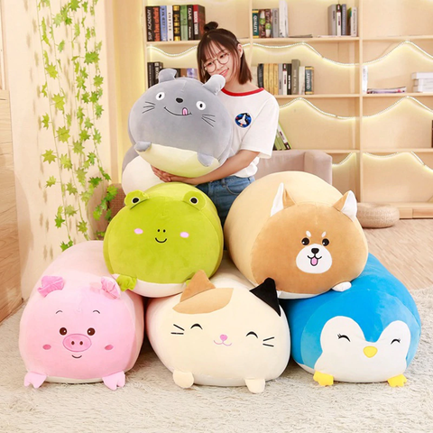 SQUISHY CHUBBY CUTE CAT PLUSH TOY - LINA DEALS