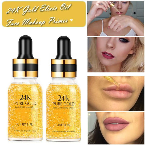 24K GOLD PORE CONCEALER MAKEUP PRIMER - LINA DEALS