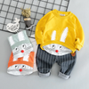 Cotton active casual cartoon kids suit - LINA DEALS