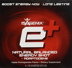 ISAGENIX Energy Plus Apple Pomegranate Shots