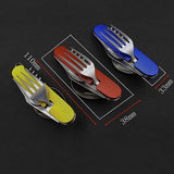 Compact Silverware Set