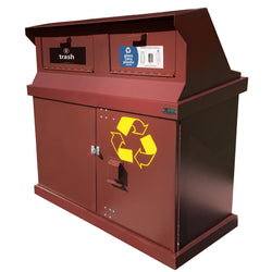 Bear Resistant Ha Series Trash Cans And Recycle Bins Bearsaver