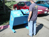 BearSaver - Hid-A-Bag Mini Double Recycling Enclosure, ADA Compliant, 64 gal - HB2G-UPY