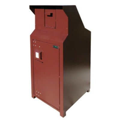 CE Series Single Recycling/Dog Waste Enclosure, Special Small Chute, ADA Compliant - CE140-CHD