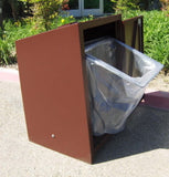 BearSaver - BE Series Single Trash Enclosure, ADA Compliant  - BE1-P