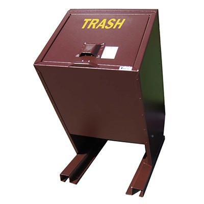 BearSaver - Hid-A-Bag Single Trash Enclosure, 70 gal - HB1-P