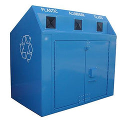 BearSaver - Mini Depot Recycling Enclosure, ADA Compliant  - MDYP-LL