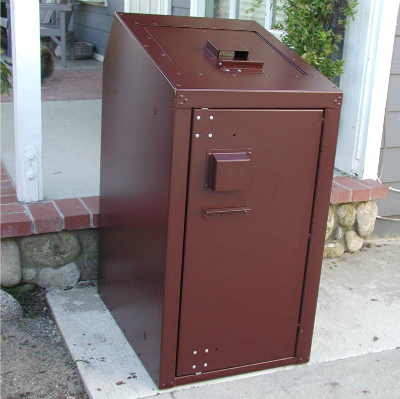 BearSaver Bearier™ - Residential Single Trash Can Enclosure - RCE130F