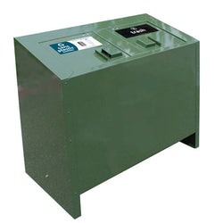 BearSaver - BE Series Double Trash/Recycling Enclosure, ADA Compliant - BE2-PX