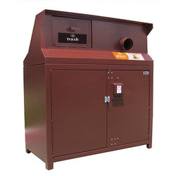 BearSaver - CE Series Double Trash/Recycling Enclosure, ADA Compliant  - CE232-CHR